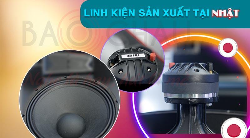 Loa karaoke BIK BSP 410 cao cấp giá rẻ