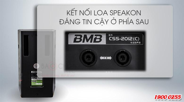 Loa BMB CSS 2012 (C) like new cửa phản xạ âm trầm phía sau