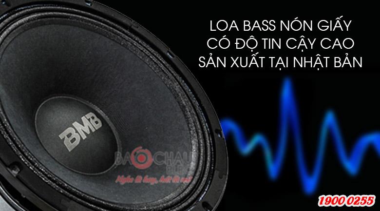 Loa BMB CSS 2012 (C) like new loa bass nón giấy, độ tin cậy cao