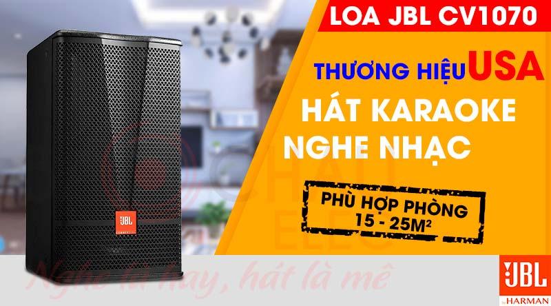 Loa karaoke JBL CV1207 chính hãng giá rẻ