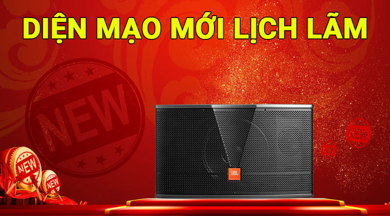 Loa karaoke JBL CV1252T thiết kế đẹp