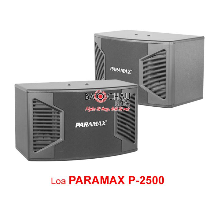 Loa Paramax P2500 giá rẻ, chất âm hay