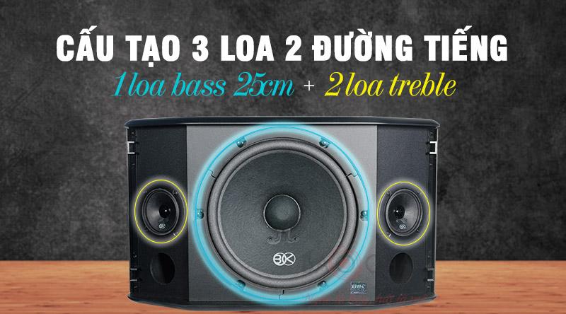 Loa karaoke BIK BQ-S63 thiết kế hiện đại