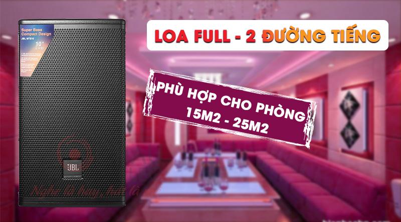 Loa karaoke JBL MTS10 công suất mạnh mẽ