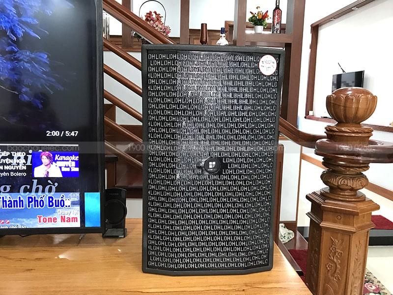Loa LDH Audio Wolver-10P dễ dàng phối ghép cho dàn karaoke gia đình