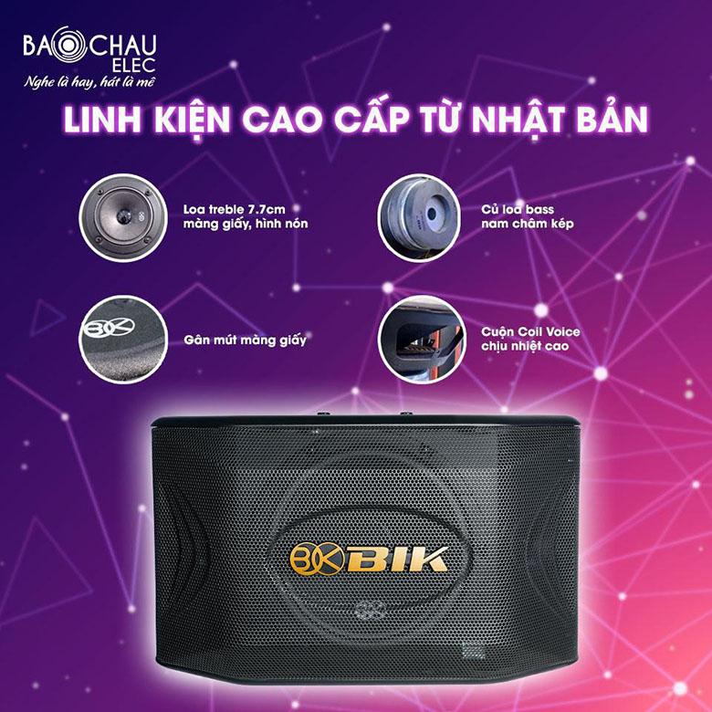 Loa BIK BQ-S63 linh kiện cao cấp