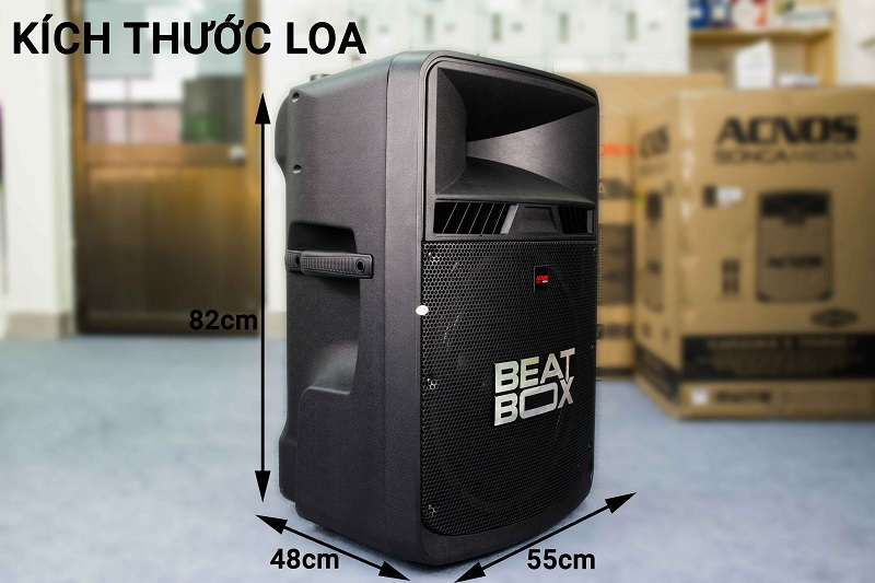Dàn karaoke di động Beatbox KB50U giá rẻ
