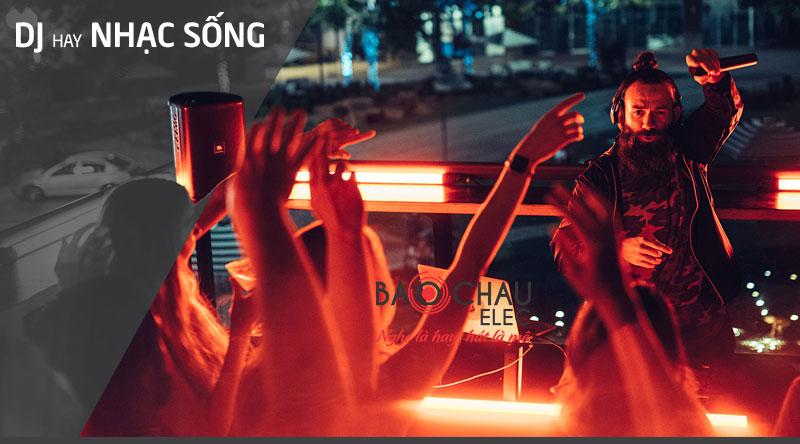 Loa JBL EON ONE Compact sử dụng cho hát karaoke