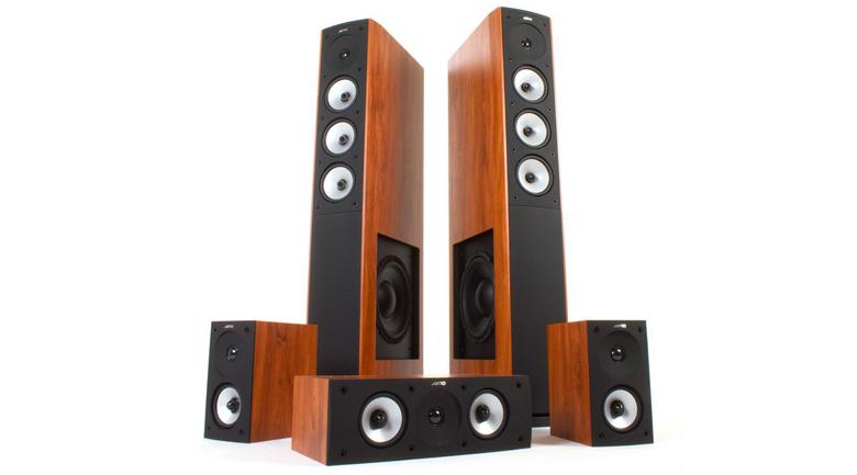Bộ loa Jamo S628 HCS chuyên dụng cho nhu cầu nghe nhạc, xem phim