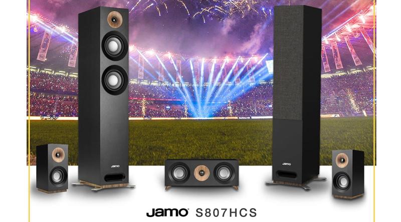 Bộ loa nghe nhạc, xem phim 5.0 Jamo S807 HCS chính hãng, giá tốt