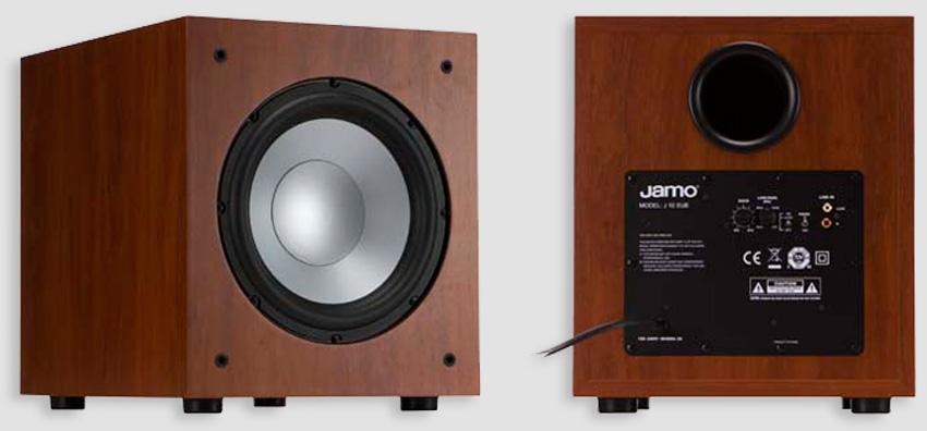 Loa sub Jamo J12 tái tạo âm trầm sâu lắng, chi tiết