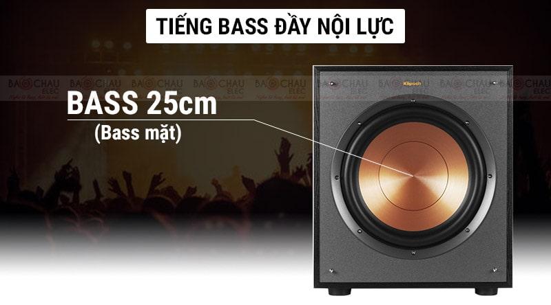 Loa sub Klipsch R110SW âm thanh đầy nội lực