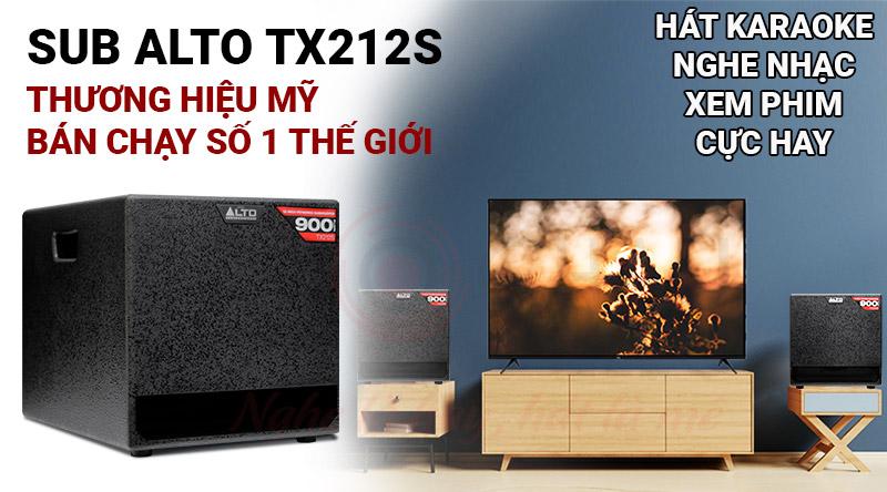 Loa sub Alto TX212S giá rẻ nhất tại Bảo Châu Elec