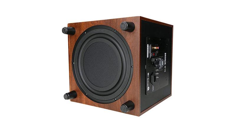 Loa sub Monitor Audio W10 dễ dàng phối ghép