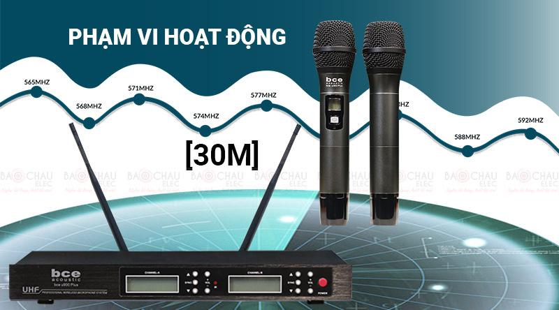 micro không dây BCE U900 Plus version 2