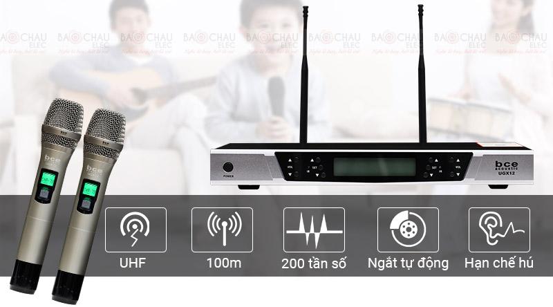 Micro không dây BCE UGX12 hát cực hay