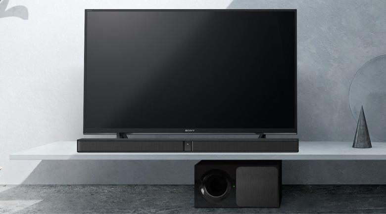 Thiết kế của loasoundbar Sony HT-CT290: Đẹp, gọn gàng, tiện lợi khi lắp đặt