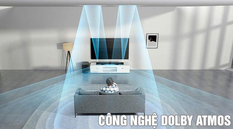 Bộ loa soundbar Sony HT-ST5000: Công nghệ Dolyby Atmos
