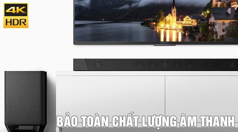 Bộ loa soundbar Sony HT-ST5000: Bảo toàn chất lượng âm thanh tốt nhất