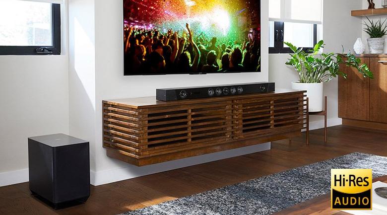 Bộ loa soundbar Sony HT-ST5000: Tận hưởng nghệ thuật chân thực nhất