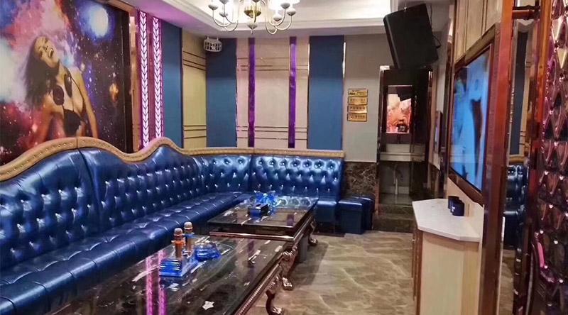 Phòng hát karaoke phong cách hiện đại