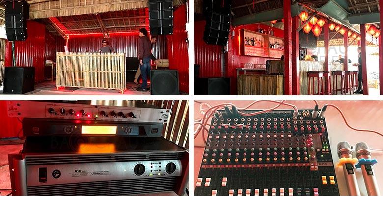 Hệ thống âm thanh nhà hàng