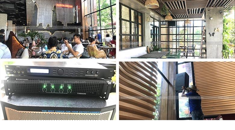 Hệ thống âm thanh quán cafe
