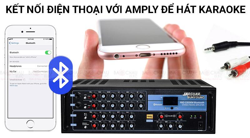 Cách kết nối điện thoại với amply để hát karaoke dễ nhất