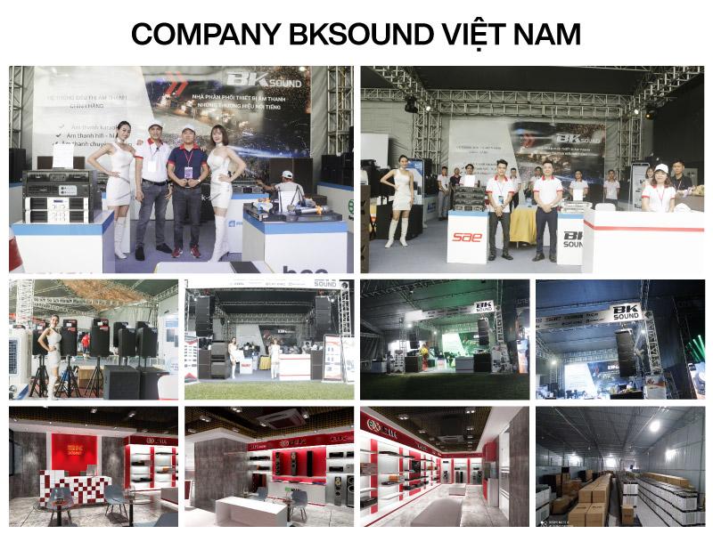 Đội ngũ nhân sự công ty BKSound Việt Nam