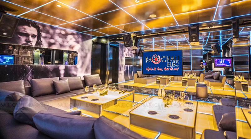 Phòng karaoke phong cách sang trọng