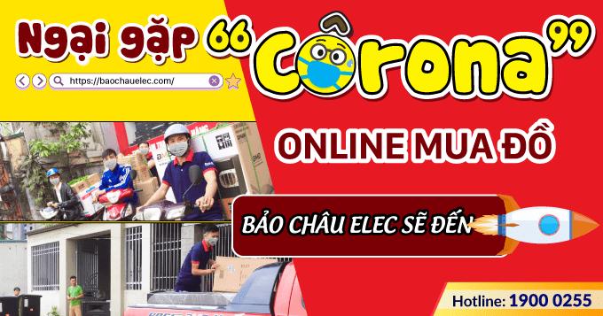 Ngại gặp Corona - Online mua đồ - Bảo Châu sẽ đến