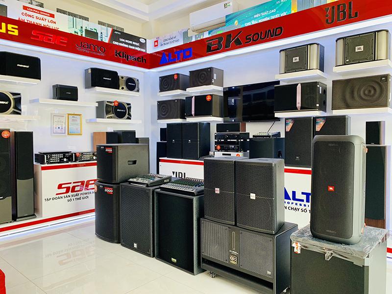 Hệ thống trang thiết bị Bảo Châu Elec hiện đại