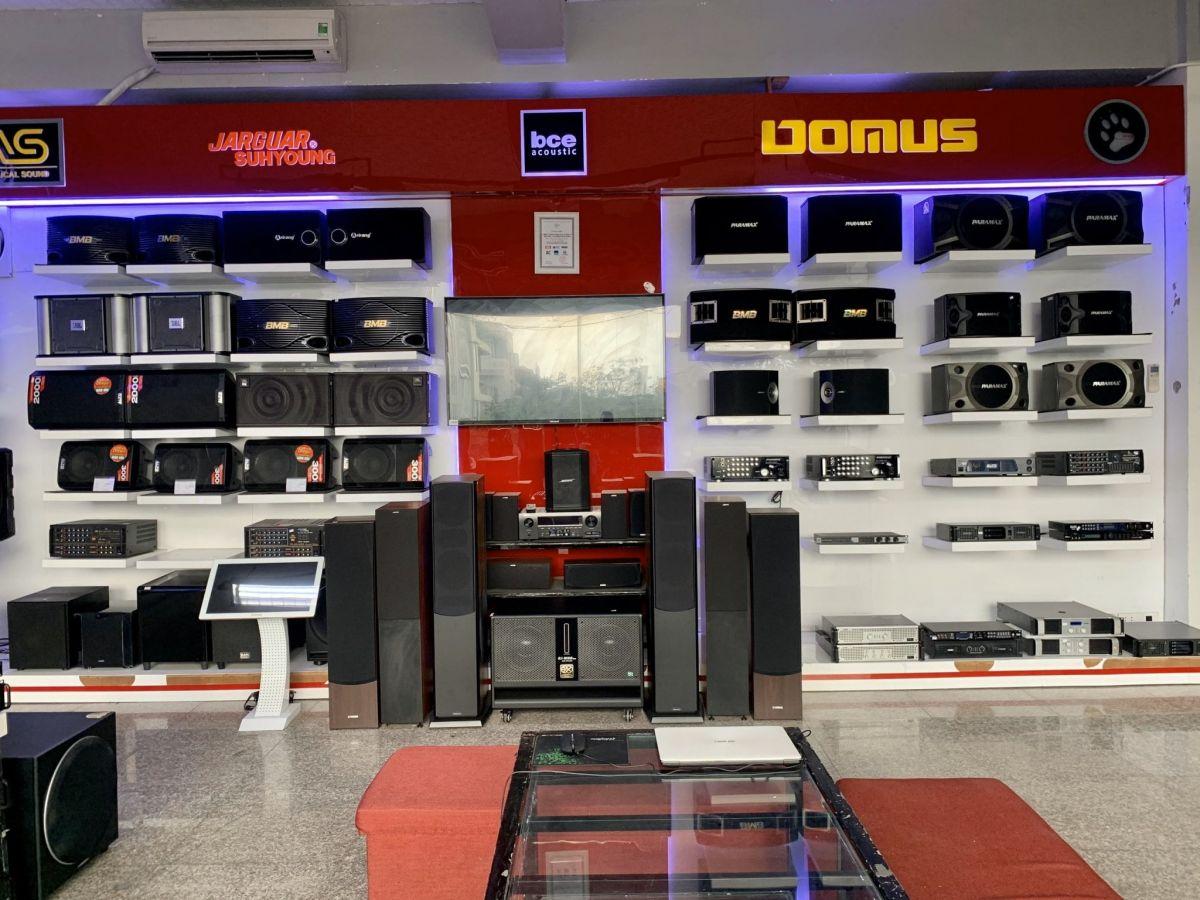 Cửa hàng bán thiết bị âm thanh ở đà nẵng
