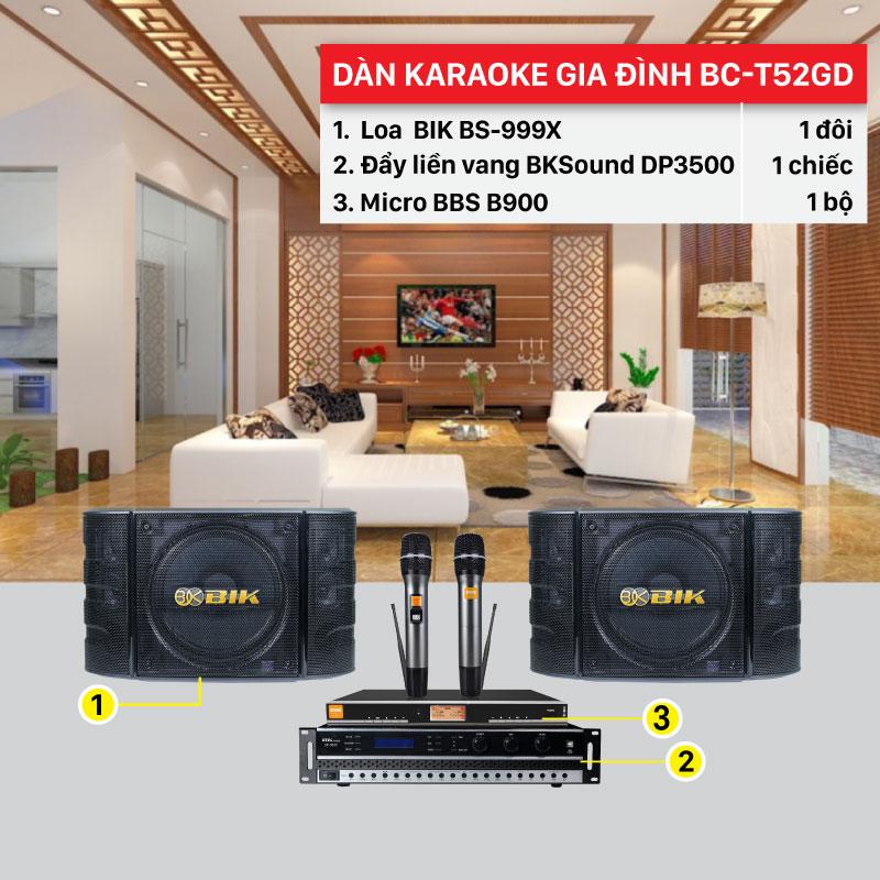 Dàn karaoke gia đình giá rẻ cao cấp