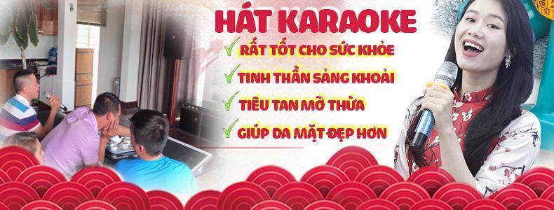 Hát karaoke tốt cho sức khỏe