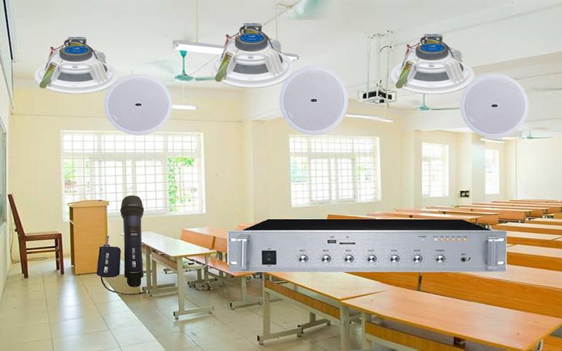 Hệ thống âm thanh lớp học