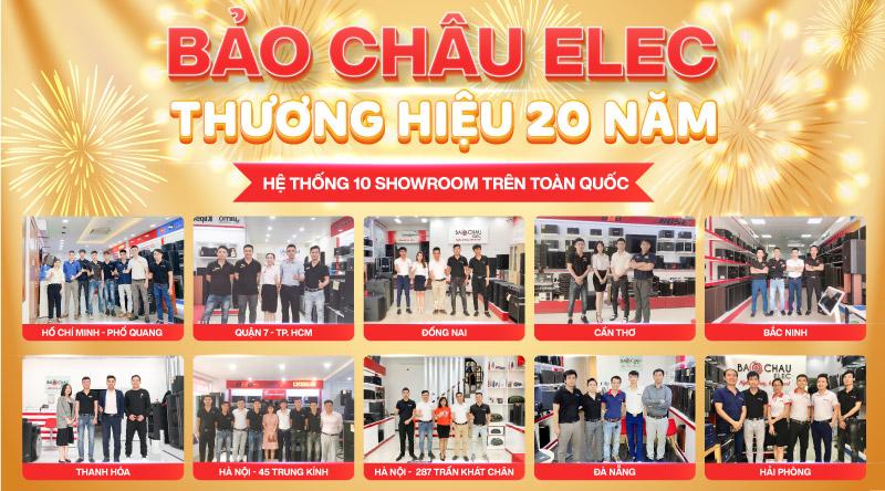Bảo Châu Elec thương hiệu 20 năm