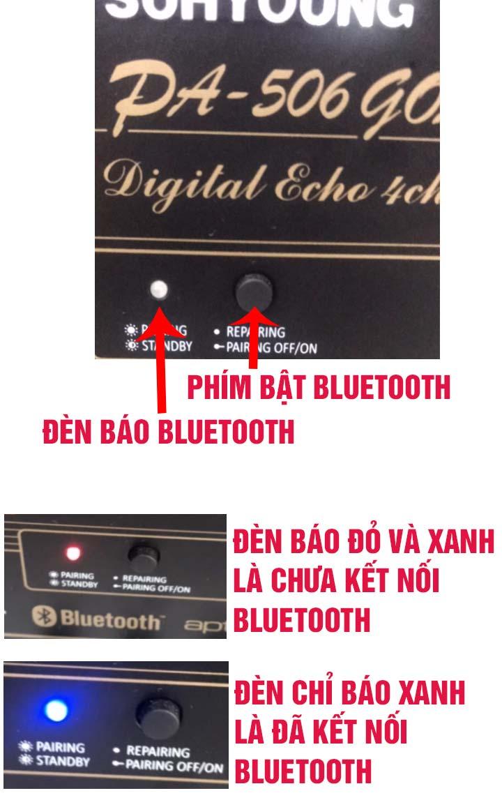 Cách bật chế độ bluetooth trên Amply Jarguar