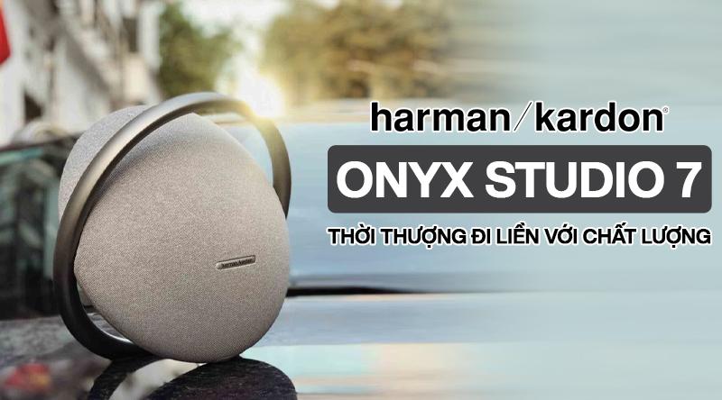 Harman Kardon Onyx Studio 7: Thiết kế đến từ tương lai, chất âm gây kinh ngạc