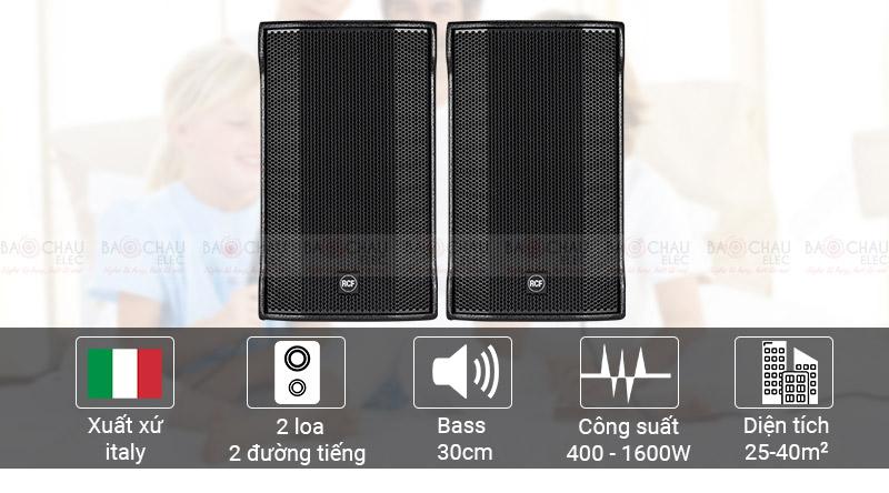 Loa karaoke RCF C MAX 4112 chính hãng, giá tốt, hát cực hay