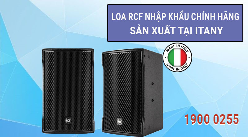 Loa karaoke RCF C MAX 4112 chính hãng, giá tốt