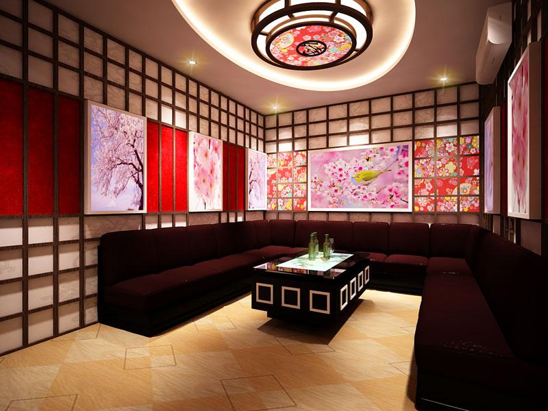 Phòng karaoke phong cách Nhật Bản