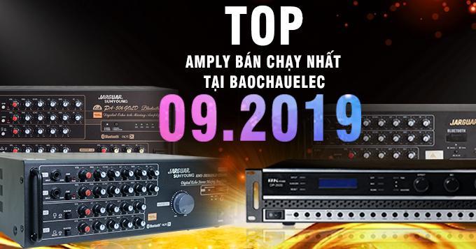 Top 5 amply bán chạy nhất tháng 9/2019