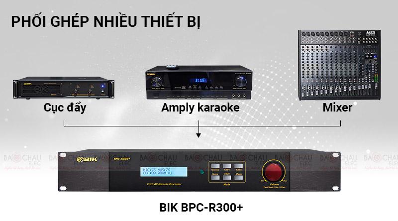 Vang số BIK BPC-R300+ phối ghép dễ dàng