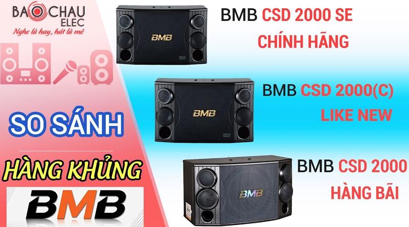 Loa BMB CSD 2000C like new (bass 30cm)