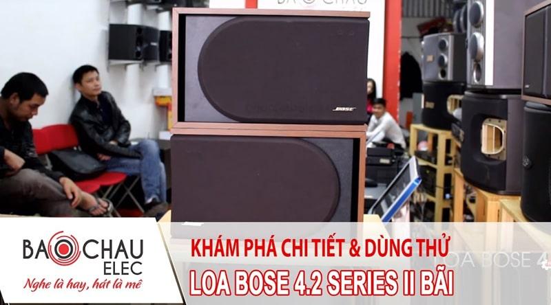 Loa Bose 4.2 seri II hàng bãi