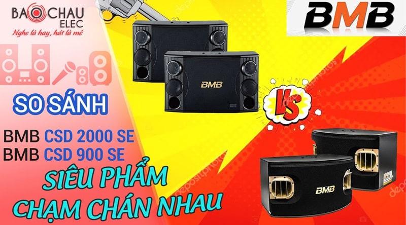 Loa karaoke BMB CSD 2000SE (bass 30cm)