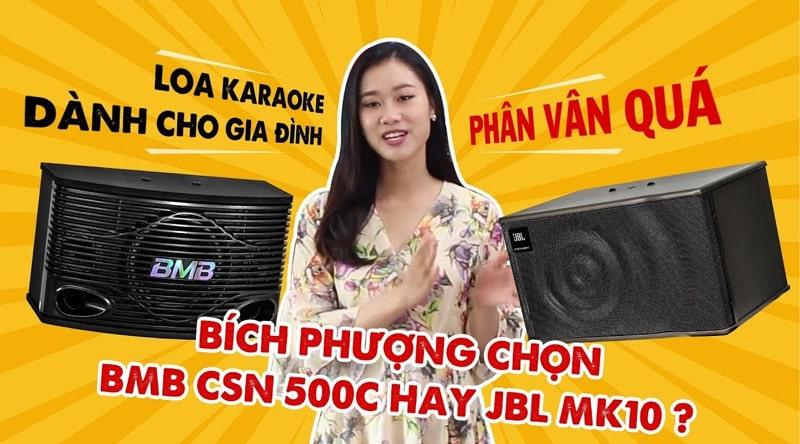 Loa karaoke BMB CSN 500SE (bass 25cm)