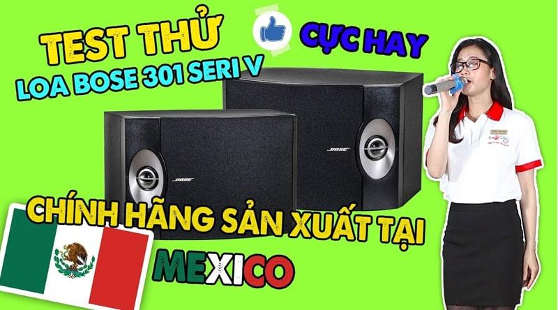 Loa karaoke Bose 301 seri V (bass 20cm)