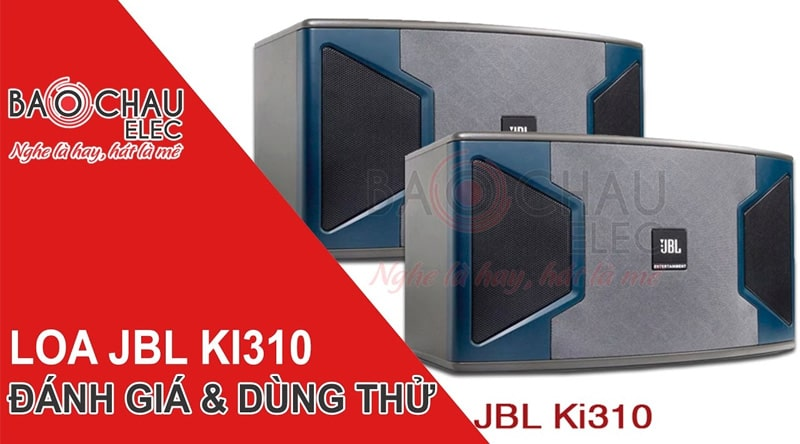 Loa karaoke JBL Ki310 Ba Sao (bass 25cm)